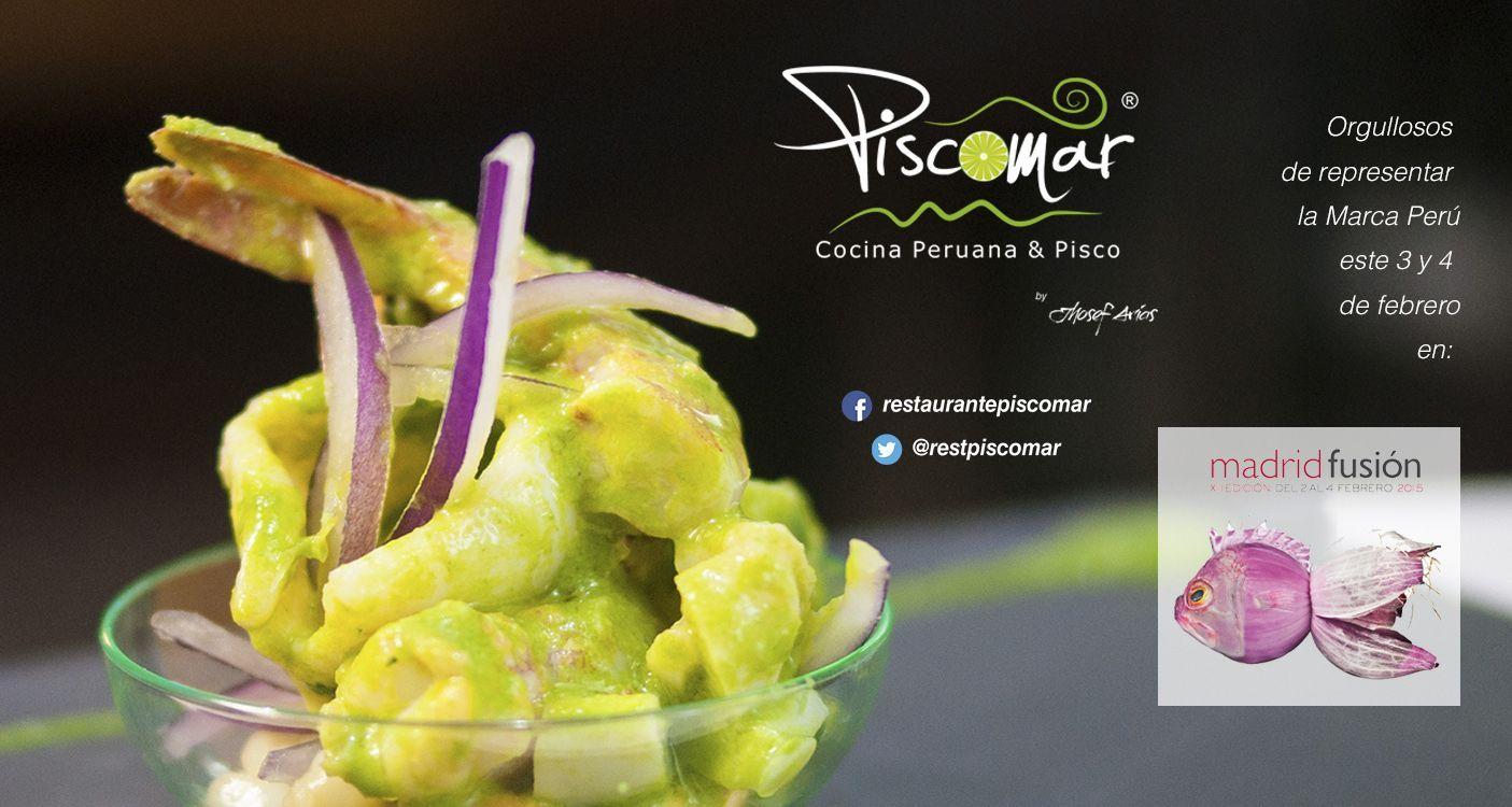 Piscomar en Madrid Fusion 2015
