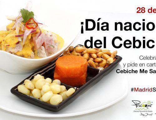 ¡Feliz 28 de junio Día Nacional del Cebiche en Perú!