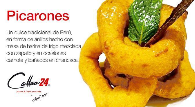 Picarones dulce peruano