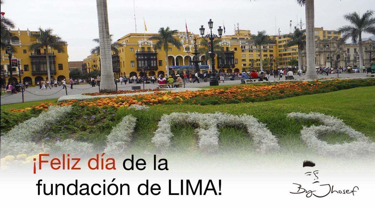 18 enero de 1535 se fundó LIMA