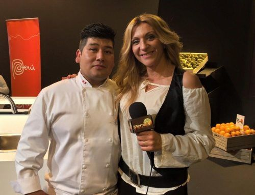 Video Entrevista al chef Jhosef Arias en Fruit Fusión 2015