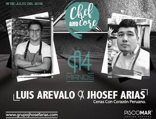 Experiencia 4 Manos con Luis Arevalo y Jhosef Arias – 18 julio 20:00
