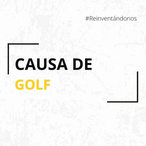 causa de golf